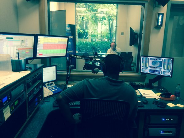 New studio for Business Radio powered by Wharton.
